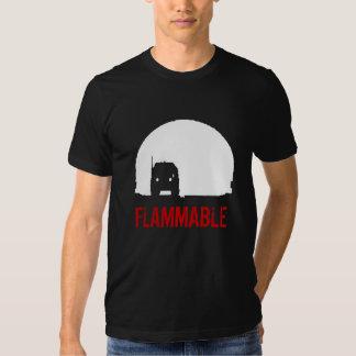 Duel Truck t-shirt FLAMMABLE - Customisable