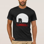 Duel Truck t-shirt FLAMMABLE - Customisable