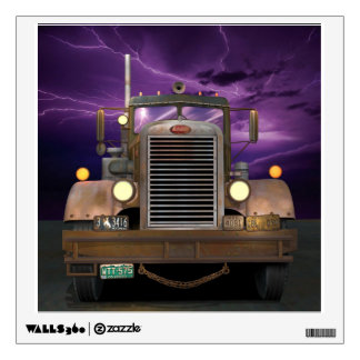 Duel Truck Wall Decal