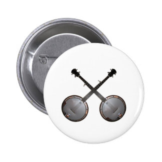 Dueling Banjos 2 Inch Round Button