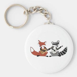 Dueling Banjos Keychain
