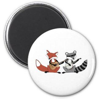 Dueling Banjos Fridge Magnet