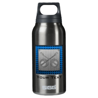 Dueling Banjos; Metal-look Insulated Water Bottle