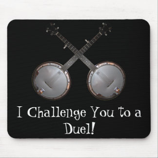 Dueling Banjos Mouse Pad