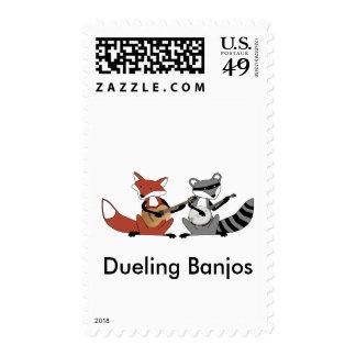 Dueling Banjos Postage Stamps