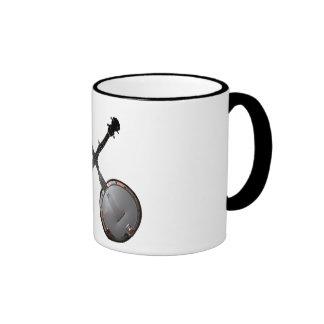 Dueling Banjos Ringer Coffee Mug