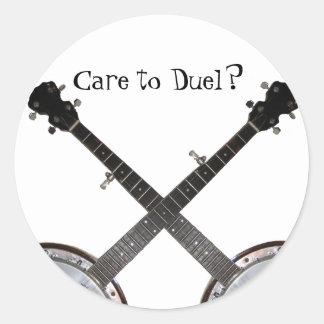Dueling Banjos Sticker
