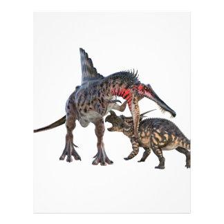 Dueling Dinosaurs Letterhead