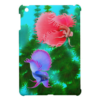 Dueling Male Betta Splendens Fish iPad Mini Case