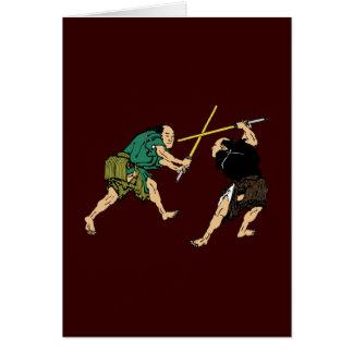 Dueling Samurai Card