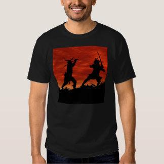 Dueling Samurai T Shirt