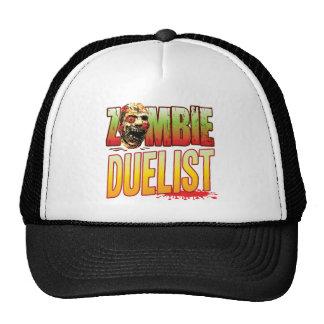 Duelist Zombie Head Hats