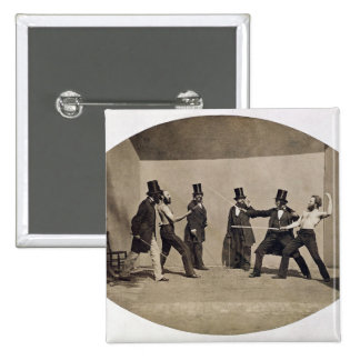 Duelling (photo) 2 inch square button
