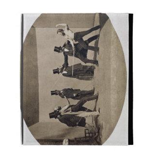 Duelling (photo) iPad folio cover