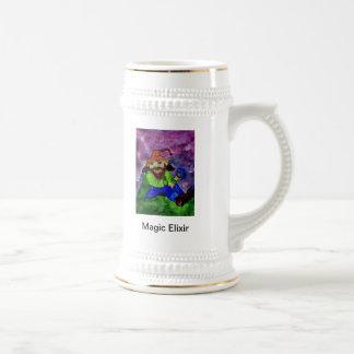 duende 1, elixir mágico jarra de cerveza