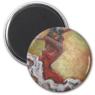Duende 2 Inch Round Magnet