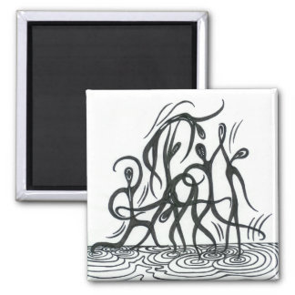 Duende 2 Inch Square Magnet