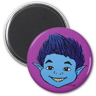 Duende Azul 2 Inch Round Magnet