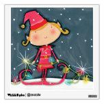Duende brillante del navidad