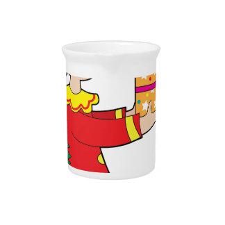 Duende con el presente jarrón