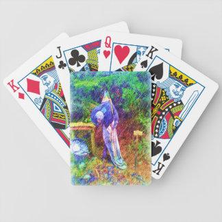 Duende con la cabeza debajo del brazo baraja de cartas