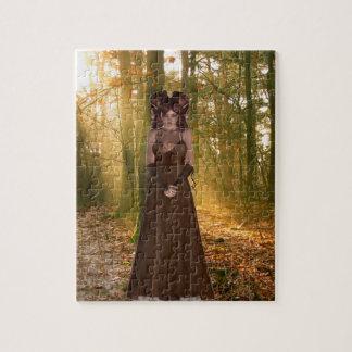 Duende de la naturaleza puzzle con fotos