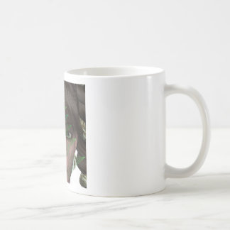 Duende de la naturaleza taza básica blanca