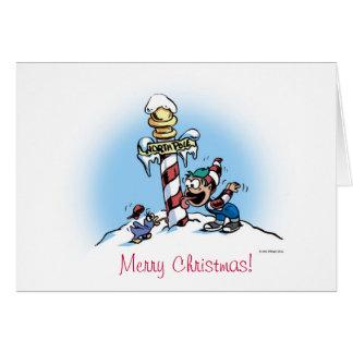 duende de las Felices Navidad Tarjeta De Felicitación