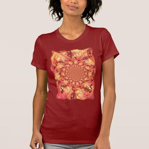 Duende de Sun del caleidoscopio Camisetas