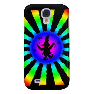 Duende del baile en los rayos de Sun del arco iris Samsung Galaxy S4 Cover