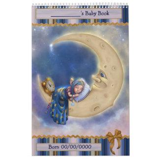 Duende del bebé de la luna calendario