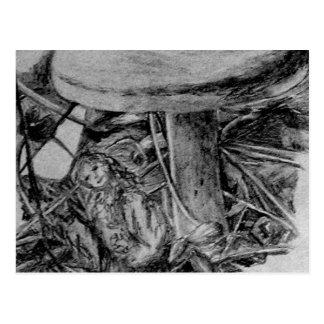 Duende del bosque - arte de CricketDiane Postal