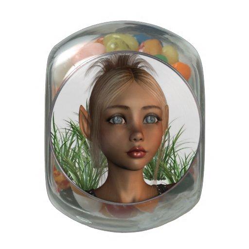 Duende del duendecillo frascos cristal