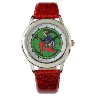 Duende del navidad de Maxfield Parrish-y Relojes De Pulsera