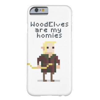 Duende del pixel funda barely there iPhone 6