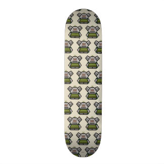 Duende el | de 8 bits congelado skate board