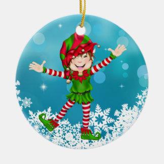 Duende feliz del navidad - SRF Adorno De Reyes