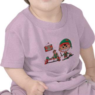 Duende futuro de Christma en el entrenamiento Camiseta