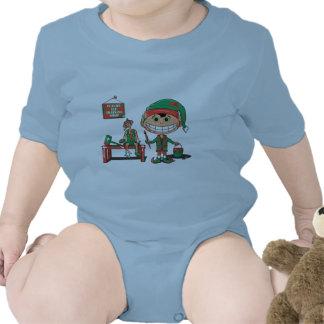 Duende futuro de Christma en el entrenamiento Trajes De Bebé