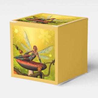Duende hermoso caja para regalos de fiestas