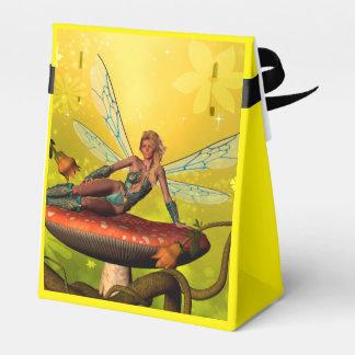 Duende hermoso cajas para regalos de fiestas