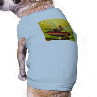 Duende hermoso camiseta de perrito