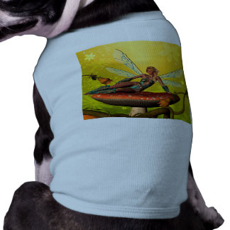 Duende hermoso camiseta de perro