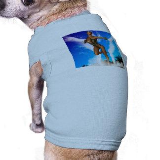 Duende hermoso ropa para mascota