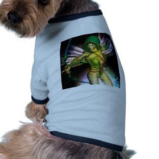 Duende hermoso camisa de perro