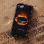 Duende malicioso de hockey ardiente funda de iPhone 6 tough xtreme
