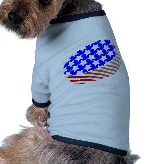 Duende malicioso de los E.E.U.U. Icehockey Camiseta De Perro
