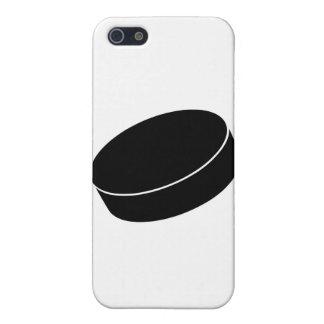Duende malicioso del hockey sobre hielo iPhone 5 fundas