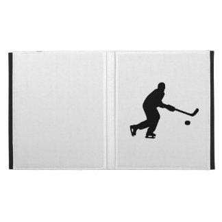 Duende malicioso del jugador de hockey