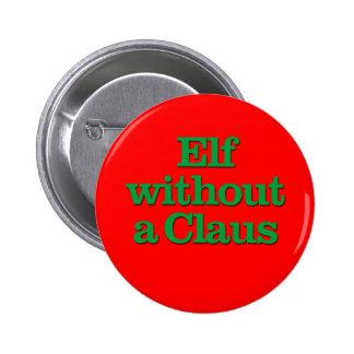 Duende sin un Claus Pins